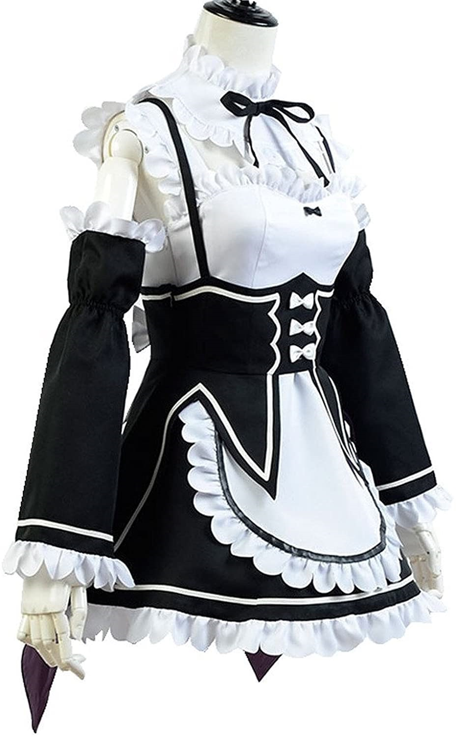 Re Zero Life In A Different World From Zero Ram Outfit Cosplay Costume