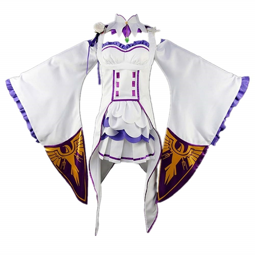 Re Zero Life In A Different World From Zero Emilia Outfit Cosplay Costume
