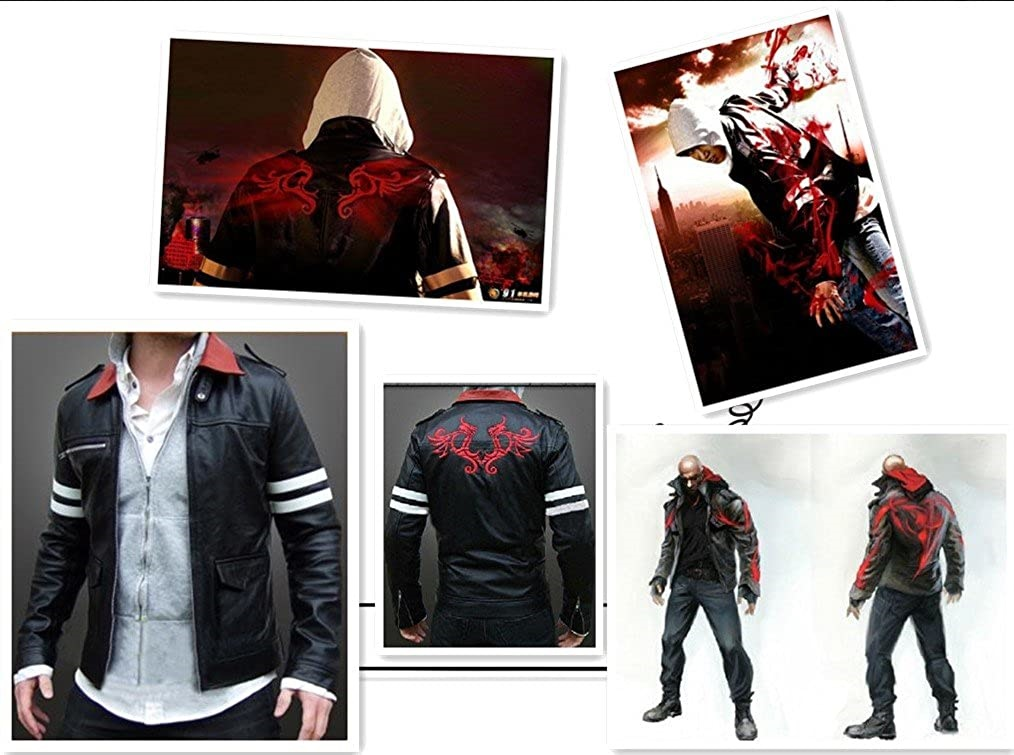 Prototype Alex Mercer Jacket Cosplay Costume