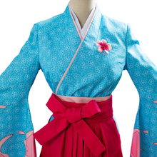 Load image into Gallery viewer, Project Sakura War Amamiya Sakura Women Kimono Cosplay Costume