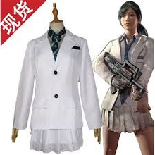 Load image into Gallery viewer, Player Unknows Battlegrounds White School Uniform Cosplay Costume