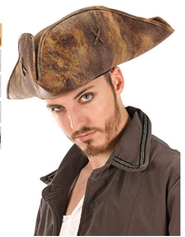 Pirates Of The Caribbean 4 On Stranger Tide Jack Sparrow Hat Cap