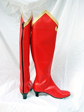 Load image into Gallery viewer, Phoenix Wright Ace Attorney Milika Cosplay Boots Shoes