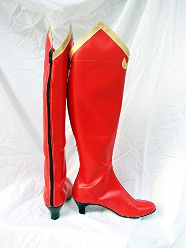Phoenix Wright Ace Attorney Milika Cosplay Boots Shoes