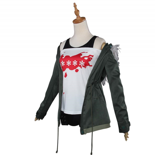 Persona 5 Futaba Sakura Shirt Coat Jacket Cosplay Costume