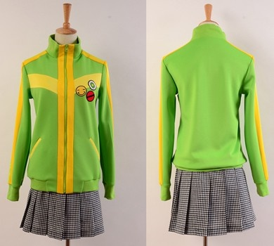 Persona 4 The Animation Chie Satonaka Uniform Cosplay Costume