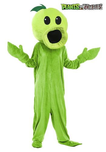 Pea Of Plants Vs Zombies Pvz Mascot Costume Adult Size