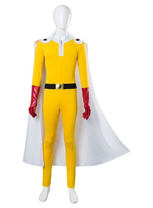 One Punch Man Saitama Jumpsuits Cosplay Costume