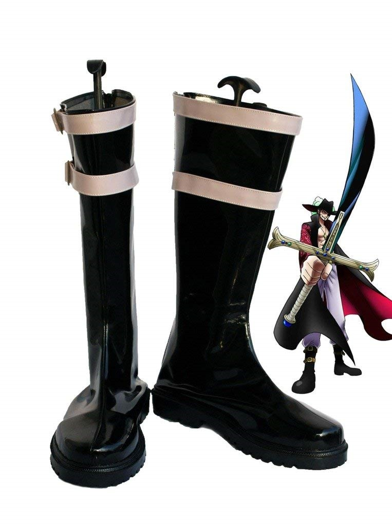 One Piece Eye Mihawk Cosplay Shoes Boots