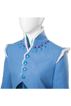 Load image into Gallery viewer, Olafs Frozen Adventure Anna Dress Outfit Cosplay Costume