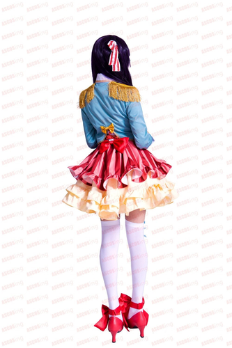 No Rin Ringo Kinoshita Dress Cosplay Costume