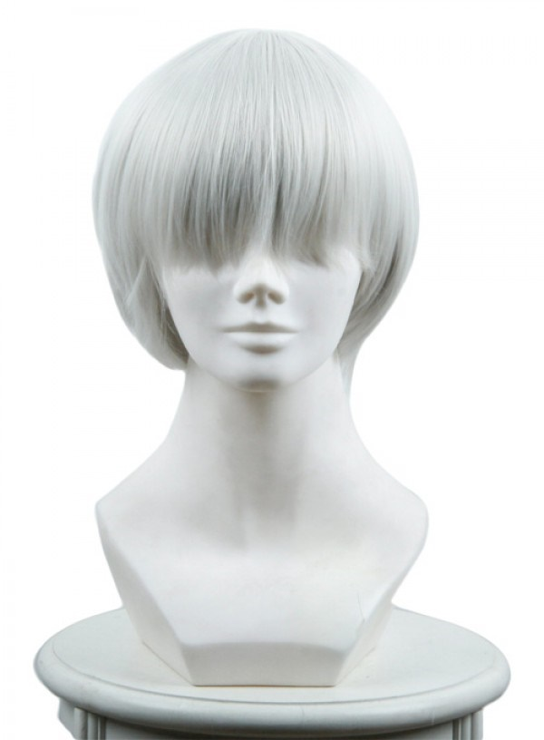 Nier Automata 9S Yorha No 9 Type S Scanner Cosplay Wigs