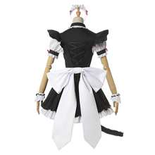 Load image into Gallery viewer, Nekopara Chocola Vanilla Women Sexy Cat Maid Servant Dress Cosplay Costume