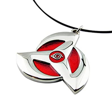 Load image into Gallery viewer, Naruto Hatake Kakashi Sharingan Necklace