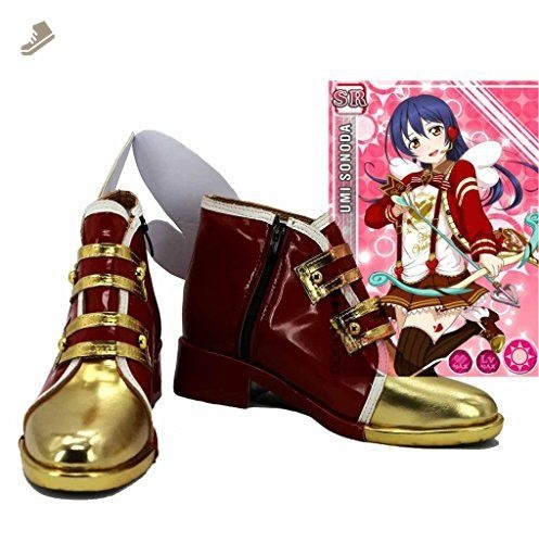 Lovelive Valentines Day Umi Sonoda Boots Cosplay Shoes