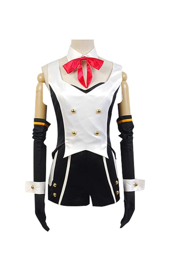 vocaloid hatsune miku project diva f 2nd luka uniform cosplay costume