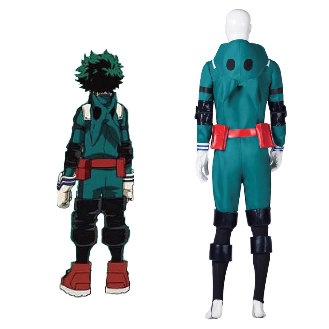 Boku No Hero Academia My Hero Academia Izuku Midoriya Battle Suit Cosplay Costume