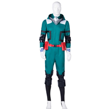 Load image into Gallery viewer, Boku No Hero Academia My Hero Academia Izuku Midoriya Battle Suit Cosplay Costume