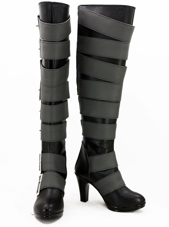 Black Butler Undertaker Cosplay Shoes Boots