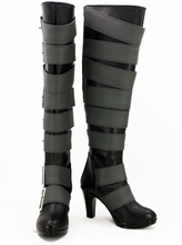 Load image into Gallery viewer, Black Butler Undertaker Cosplay Boots Shoes