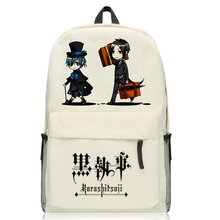 Load image into Gallery viewer, Black Butler Kuroshitsuji Backpack Shoulders Bag