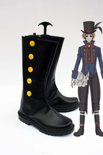 Load image into Gallery viewer, Black Butler Drocell Caines Cosplay Boots Black