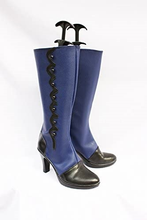 Load image into Gallery viewer, Black Butler Ciel Cosplay Boots Shoes Blue