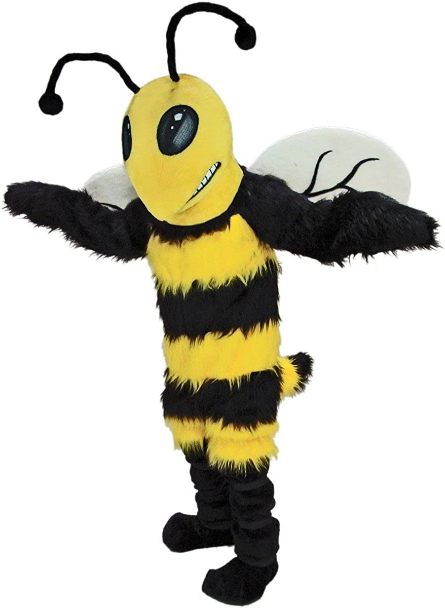 Bee Honeybee Bumblebee Mascot Costume New