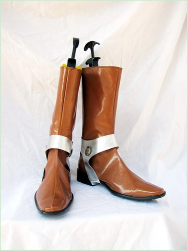 Chrono Trigger Witcher Cosplay Boots Shoes Brown