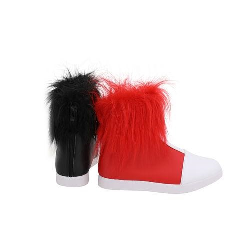 Anime Harley Quinn Boots Costume Props Halloween Carnival Party Shoes Cosplay Shoes