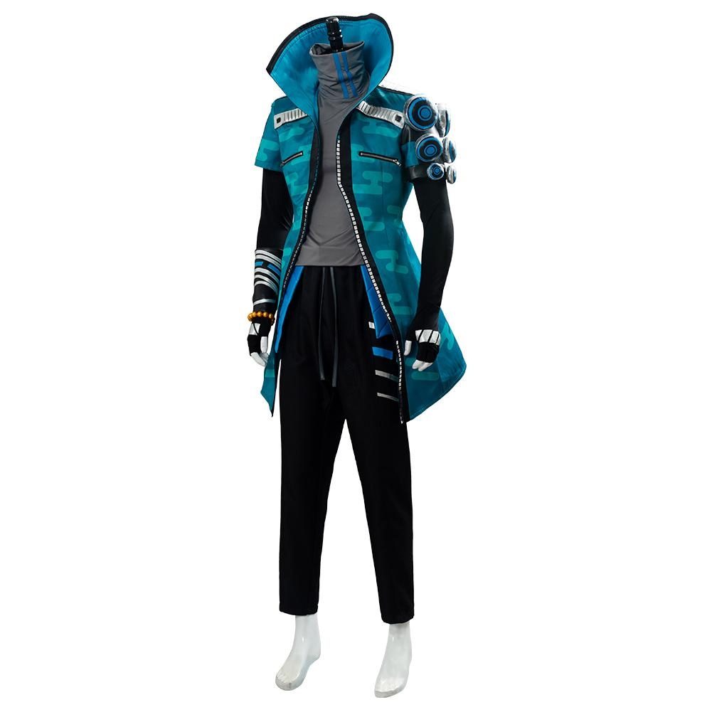 Lol League Of Legends True Damage Yasuo Suit Cosplay Costume