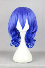 Load image into Gallery viewer, Karneval Kiichi Blue Curly Hair Cosplay Wig