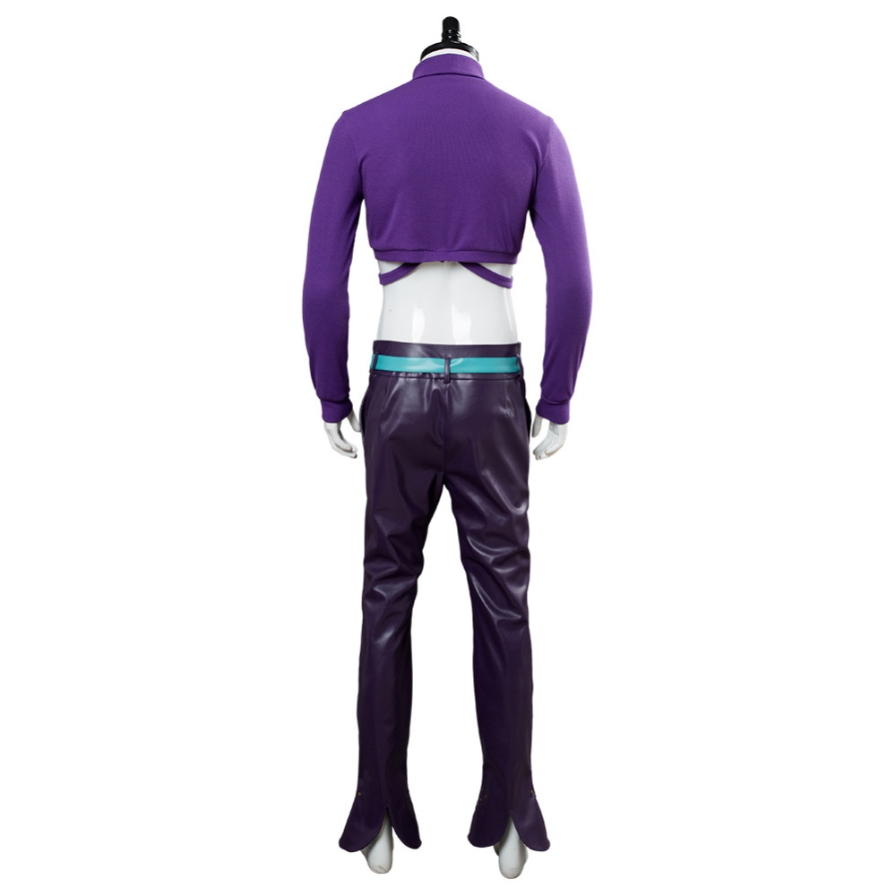 Jojos Bizarre Adventure Golden Wind Diavolo Cosplay Costume