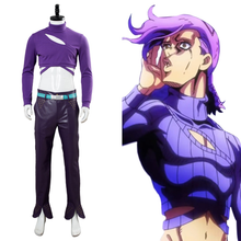 Load image into Gallery viewer, Jojos Bizarre Adventure Golden Wind Diavolo Cosplay Costume