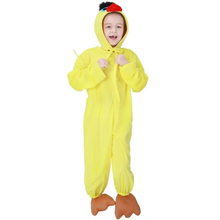 Load image into Gallery viewer, Halloween Animal Chick Cock Hem Kid Jumpsuit Cosplay Costume Bathrobe Pajamas