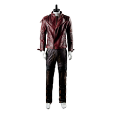 Load image into Gallery viewer, Guardians Of The Galaxy Peter Jason Quill Starlord Uniform Cosplay Costume