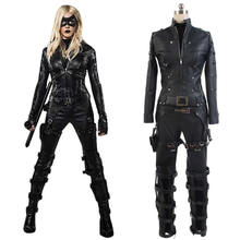 Load image into Gallery viewer, Green Arrow Season 3 Black Canary Laurel Lance Outfit Cosplay Costume