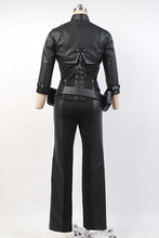 Load image into Gallery viewer, Green Arrow Black Canary Sara Lance Cosplay Costume Artificial Leather Outfit