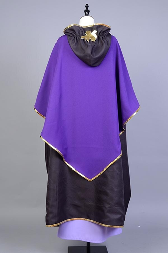 Fate Stay Night Servant Caster Outfit Cosplay Costume
