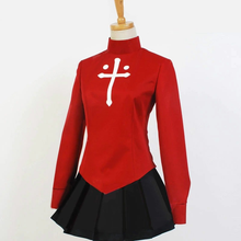 Load image into Gallery viewer, Fate Stay Night Rin T Saka Uniform Outfit Cosplay Costume