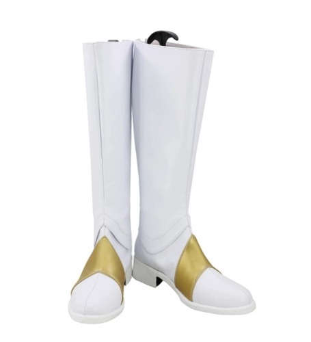 Code Geass Lelouch Of The Rebellion White Cosplay Boots