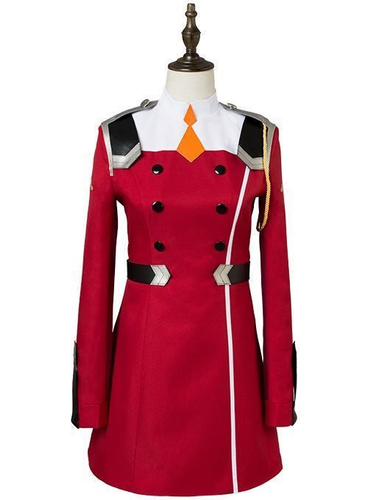 Darling In The Franxx Zero Two Code 002 Uniform Dress Cosplay Costume