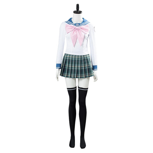 Danganronpa 3 Sayaka Maizono Women Uniform Dress Outfit Halloween Carnival Costume Cosplay Costume