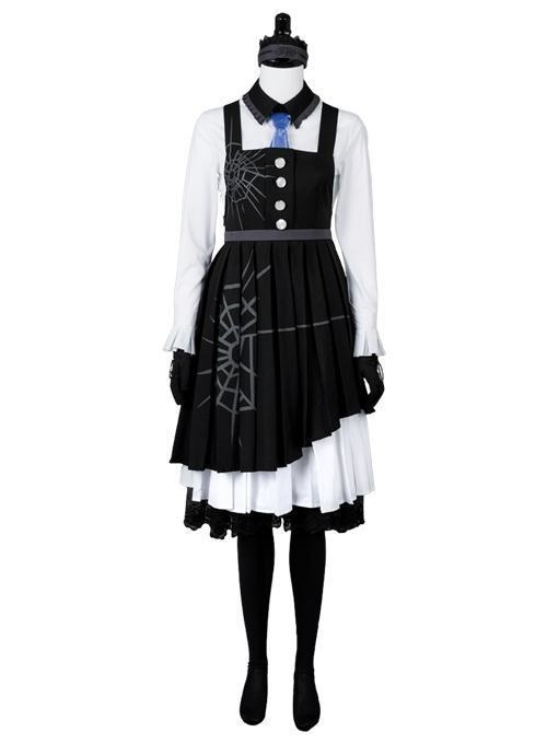 Danganronpa 3 Killing Harmony Kirumi Tojo Maid Dress Cosplay Costume