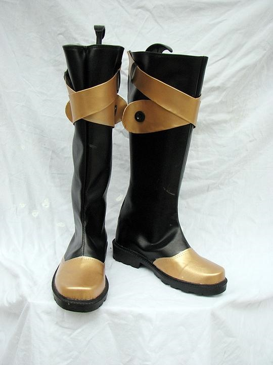 D Gray Man Cloud Cosplay Boots Shoes Custom Made