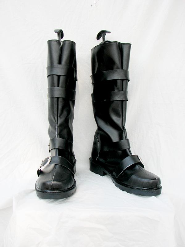 D Gray Man Arystar Krory Cosplay Boots Black Custom Made