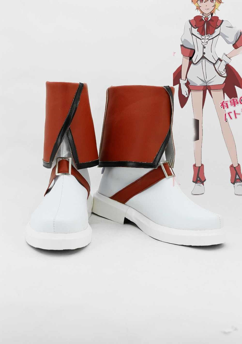 Cute High Earth Defense Club Love Defense Club Yumoto Hakone Boots Cosplay Shoes