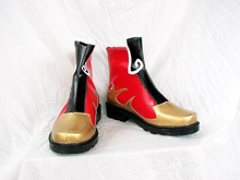 Load image into Gallery viewer, Dynasty Warriors Zhou Yu Cosplay Boots Shoes