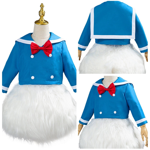 Donald Duck Outfit Halloween Carnival Costume Cosplay Costume For Kids Children