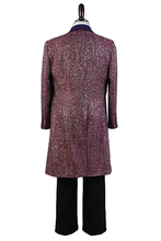 Load image into Gallery viewer, Doctor Who 11Th Doctor Purple Wool Blend Costume Set